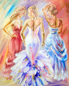 Say YES to the dress - vanaf formaat 40 x 50 cm